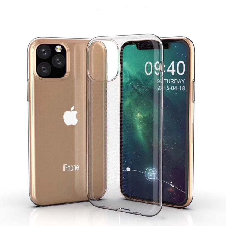 For iPhone 11 Pro Ultra-thin Shockproof TPU Clear Protective Case (Transparent)