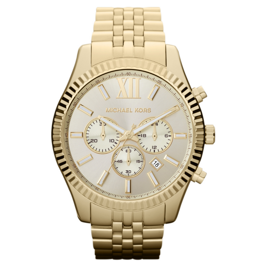 Michael Kors Men's Lexington Chronograph Watch MK8281 - SmartX Direct