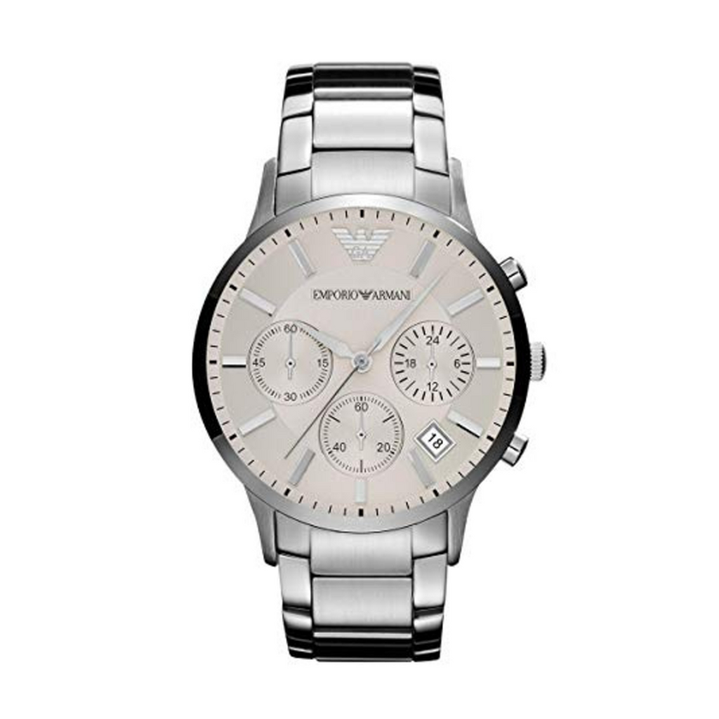 Mens Emporio Armani Chronograph Watch AR2458