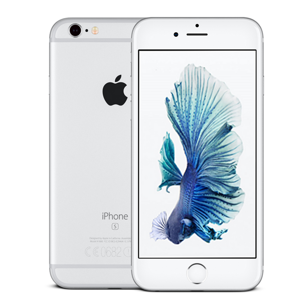 Sim Free Apple iPhone 6s 128GB Mobile Phone - Silver - Unlocked