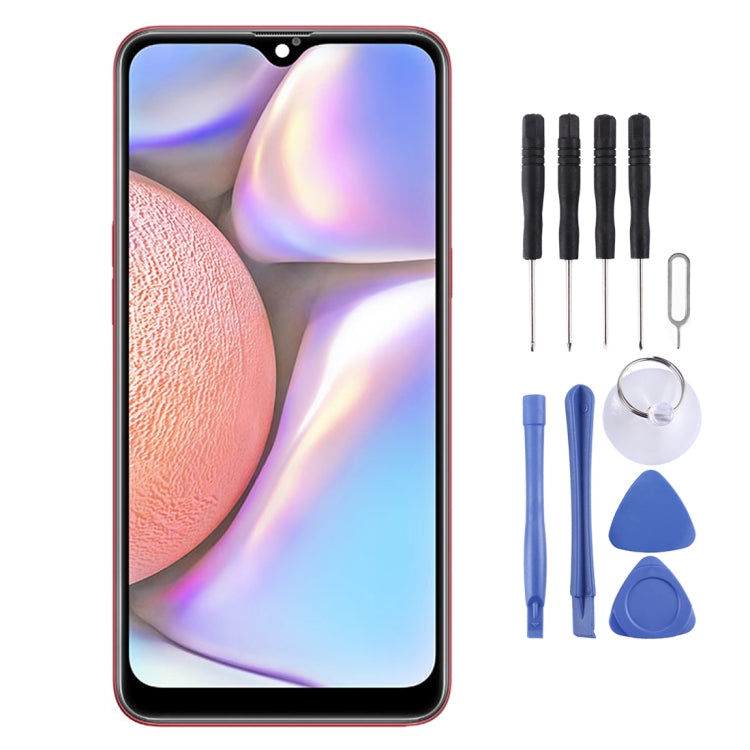 Original IPS LCD Material LCD Screen and Digitiser Full Assembly for Galaxy A10s