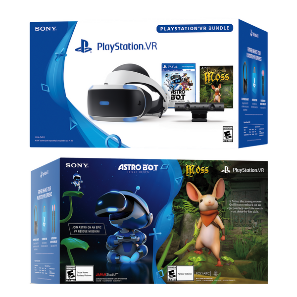 Sony PlayStation VR 2 Headset ASTRO BOT Rescue Mission and Moss with Camera Bundle - SmartX Direct