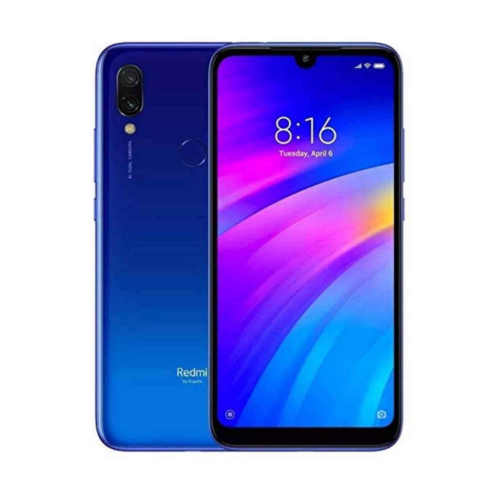 Xiaomi Redmi 7, 3GB+32GB, Global Official Version - Blue - SmartX Direct