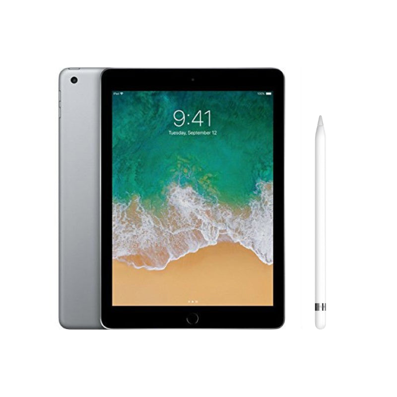 "Apple iPad 9.7"" (2018) 32GB Wifi with Apple Pencil for iPad Pro and iPad 9.7 (2018) - Space Gray - SmartX Direct"