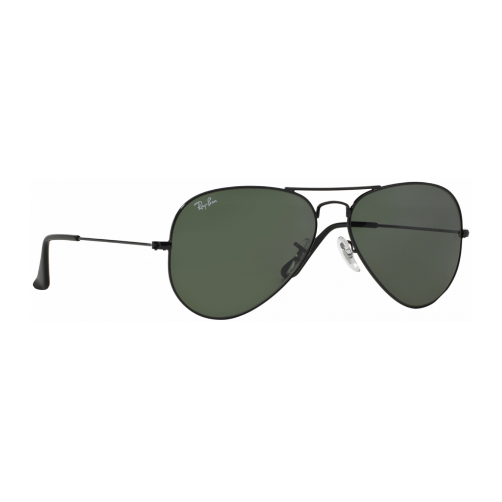 Ray-Ban RB3025 (62mm) Black Aviator Sunglasses 100% UV Protection - SmartX Direct