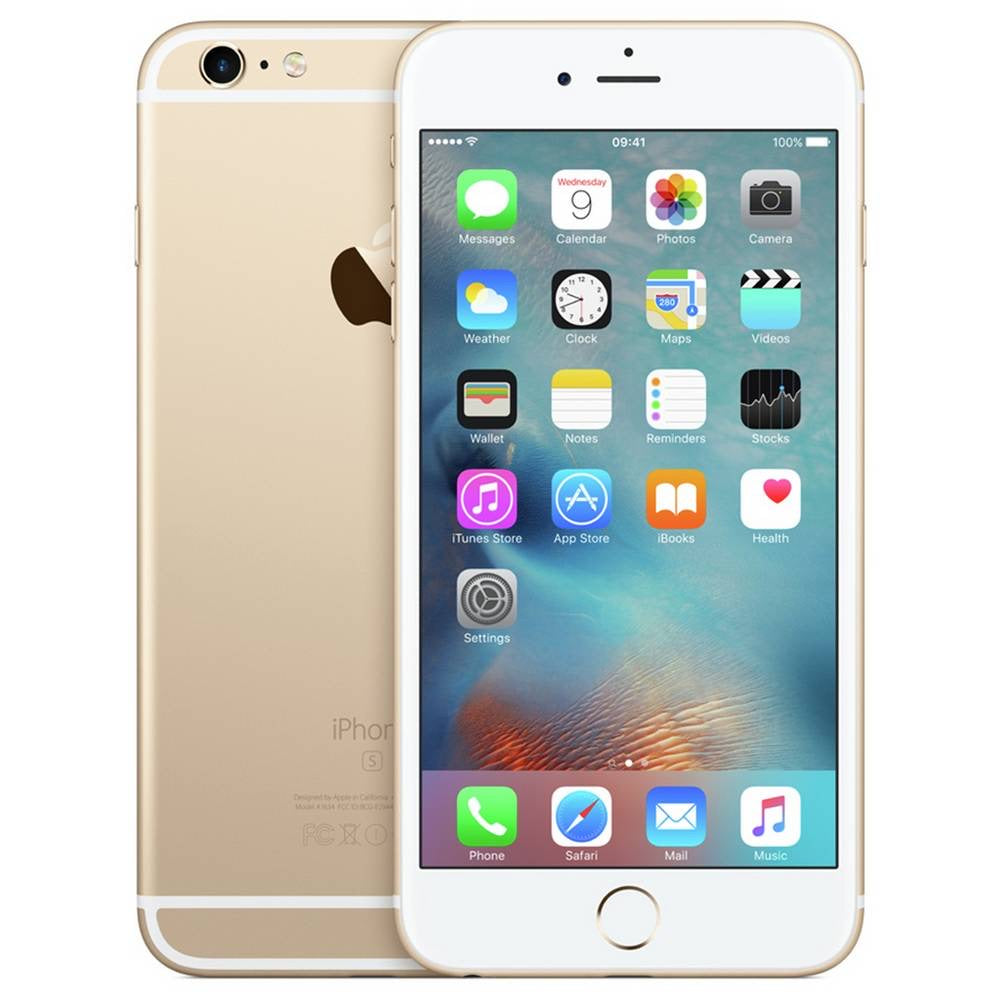 SIM Free iPhone 6s Plus 64GB Mobile Phone - Gold - Opened Box Like Brand New