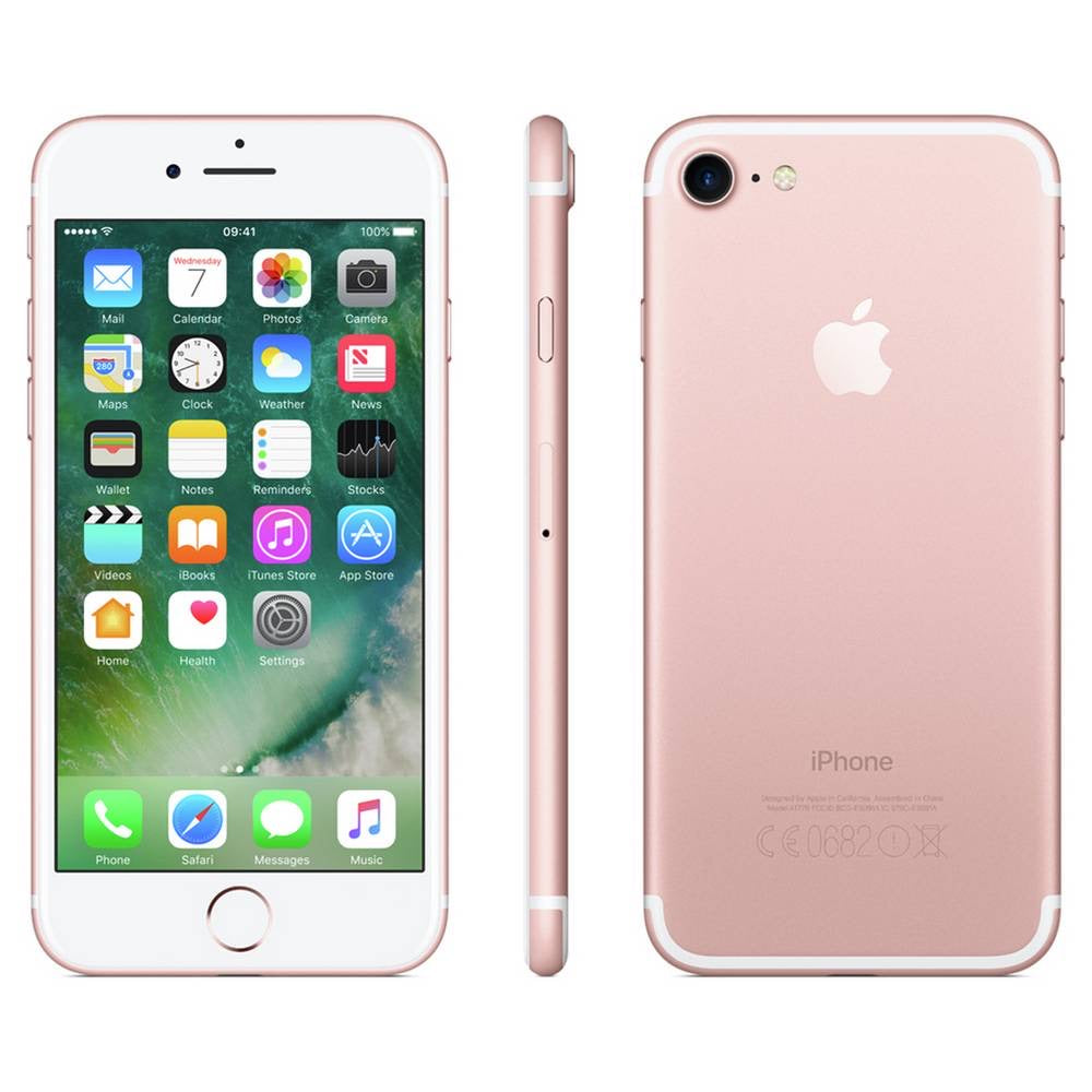 SIM Free Apple iPhone 7 128GB Unlocked Mobile Phone - Rose Gold