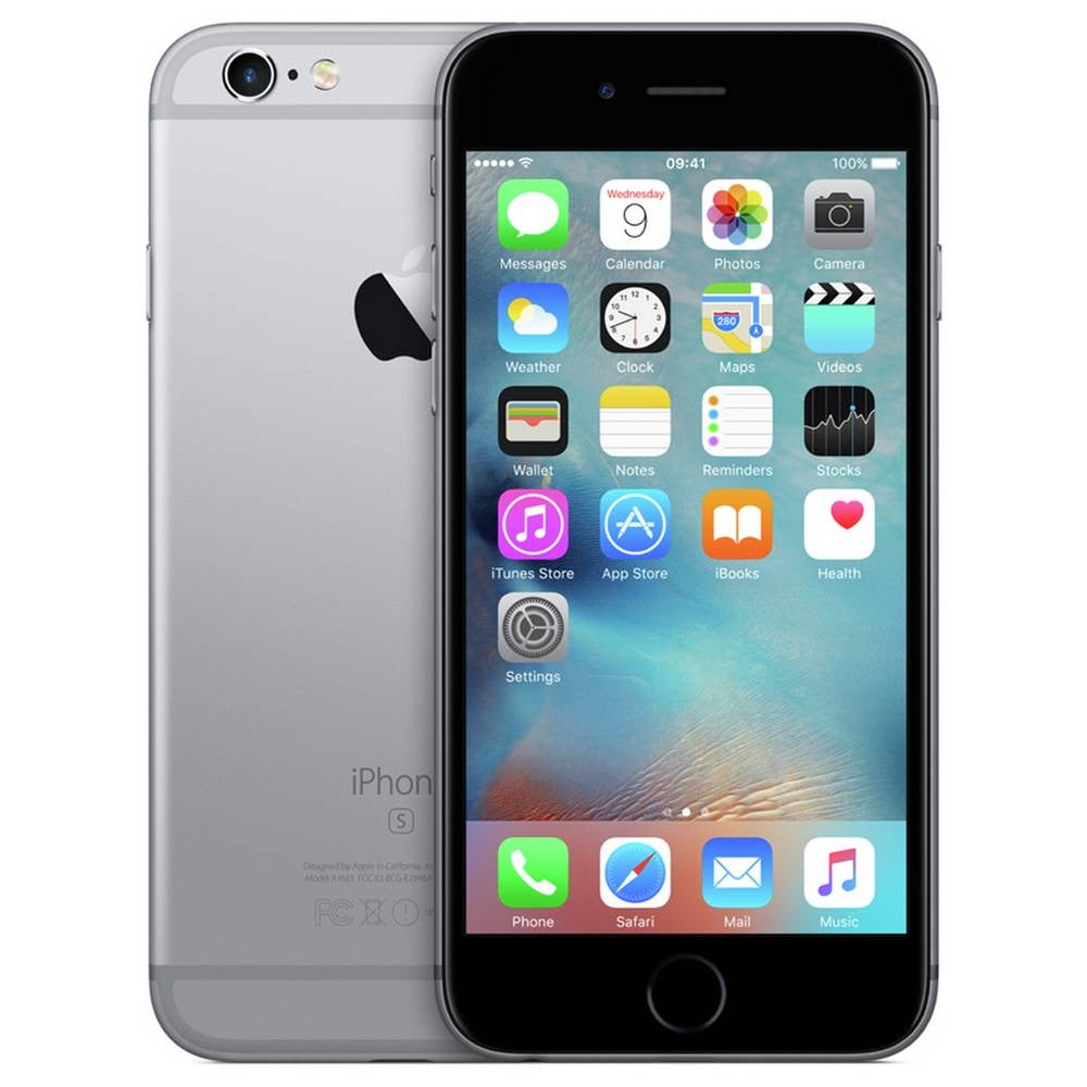 SIM Free iPhone 6s Mobile Phone 16GB - Space Grey - Open Box Like Brand New