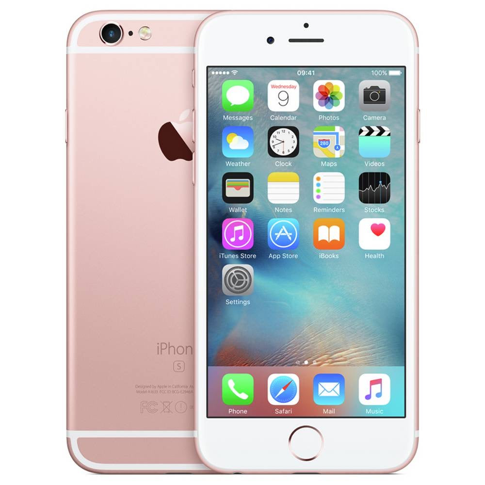 SIM Free Apple iPhone 6s Mobile Phone 16GB - Rose Gold - Open Box Like Brand New