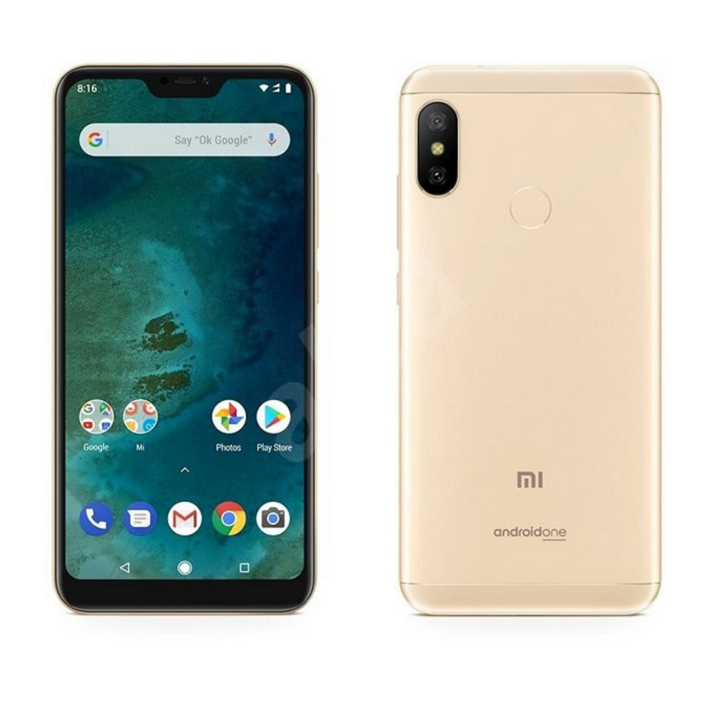 Xiaomi Mi A2 Lite, 3GB+32GB, Global Official Version - Gold - SmartX Direct