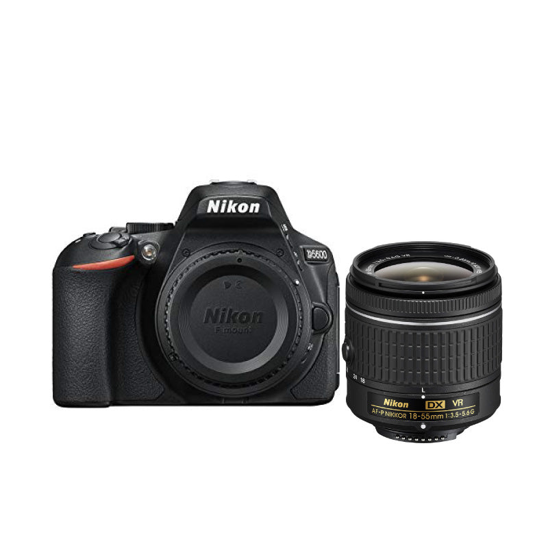 Nikon D5600 Kit with AF-P DX NIKKOR 18-55mm f/3.5-5.6G VR Lens Digital SLR Cameras - SmartX Direct
