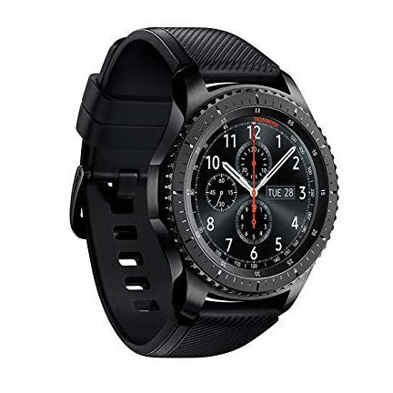 Samsung Gear S3 SM-R760 Frontier Bluetooth Smart Watch - Black - SmartX Direct