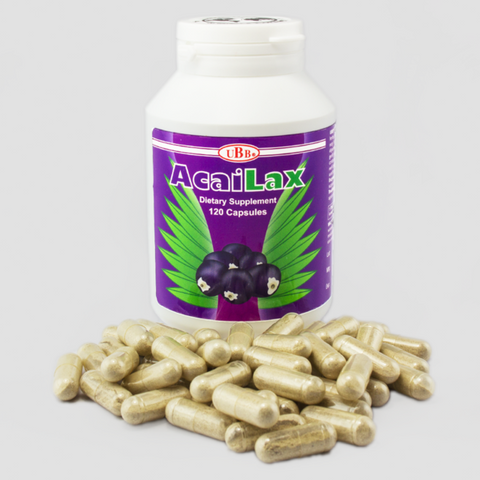 UBB AcaiLax Dietary Supplement 60 Capsules