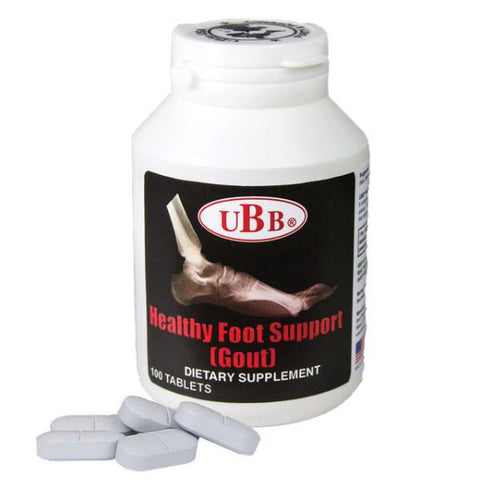 UBB Health Foot Support - 100 Tablets Dietary Supplements