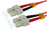 1m SC-SC Duplex Multimode 62.5/125 Fiber Optic Cable