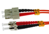 7m ST-SC Duplex Multimode 62.5/125 Fiber Optic Cable