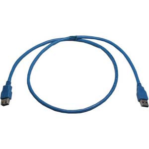 10Ft USB3.0 A-Male to A-Female Cable
