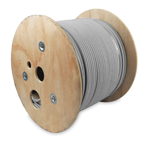 1000Ft 25Pair Cat.3 Bulk Wire Gray