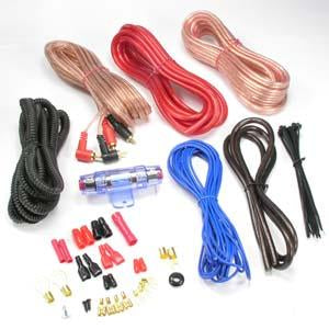 CAR AMPLIFIER HOOKUP KITS