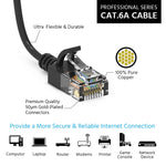 2Ft Cat6A UTP Slim Ethernet Network Booted Cable 28AWG Gray