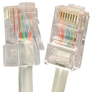 CAT.6 UTP CMR NON-BOOTED CABLES
