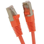 12Ft Cat.5E Shielded Patch Cable Molded Orange