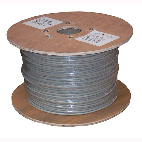 1000Ft Cat.6 Stranded Wire Bulk Cable Shielded Gray