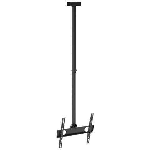 "Flat TV Ceiling Mount 37""~70"" Tilt/Swivel PLB-CE348 Black"