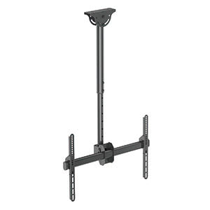 "Flat TV Ceiling Mount for 37"" ~ 70"" Adjustable Column 42"" to 61"" PLB-CE946-01L"