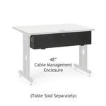 "48"" Training Table Cable Management Enclosure"