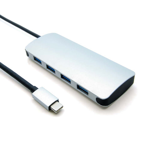 USB Type C Male to USB3.0*4 Port Hub