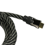 15Ft HDMI Cable with Mesh Jacket 3D 1080p 30AWG