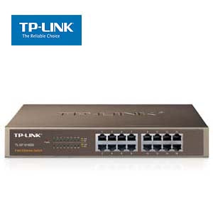 16Port 10/100Mbps Rackmount Switch TP-Link SF1016DS