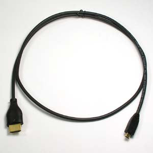 1.5Ft HDMI Male/Micro Cable 4K/60Hz