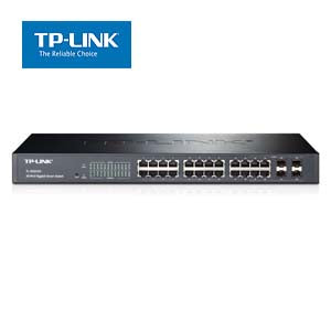 24-Port Gigabit Smart Switch with 4 Combo SFP Slots TP-Link T1600G-28TS(TL-SG2424)