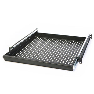20-inch Rackmount Sliding Shelf Vented Plate