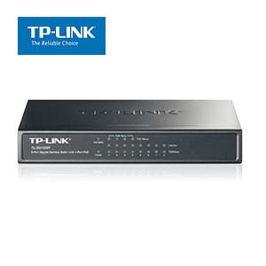 8Port 10/100/1000Mbps Desktop Gigabit Switch with 4Port PoE TP-Link SG1008P