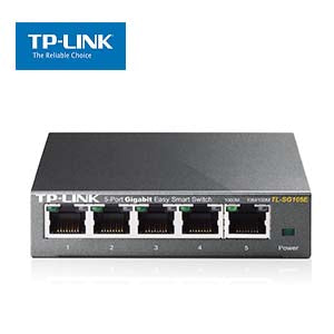5-Port Gigabit Easy Smart Switch TP-Link TL-SG105E
