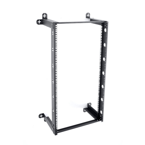 "V-Line 21U Fixed Wall Mount Rack 18"" Deep"
