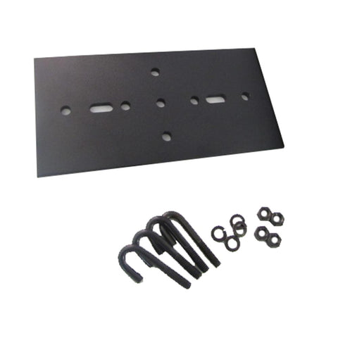 "Rack to Runway Plate For 3""Channel, 9""W to 12""W"