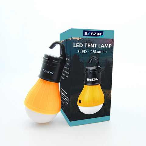 Soft Light Indoor/Outdoor LED Hanging Camping Lantern with Batteries