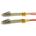 15m LC-LC Duplex Multimode 50/125 Fiber Optic Cable