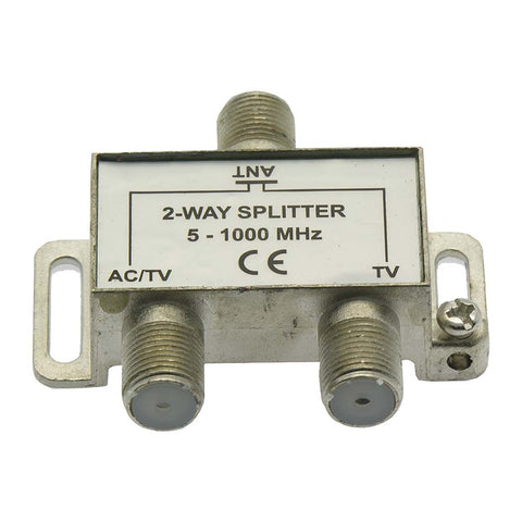 2Way WA2608/WA2608B TV Signal Splitter AC Power Pass