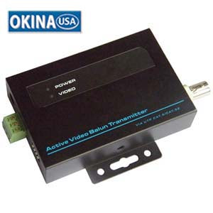 Video Balan Active Transmiter (use w/501511 receiver) 5KFt Okina VAB100T