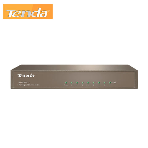 8-Port Gigabit Desktop Switch Tenda TEG1008D