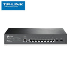 8-Port Gigabit JetStream L2 Managed Switch with 2 SFP Slots TP-Link T2500G-10TS