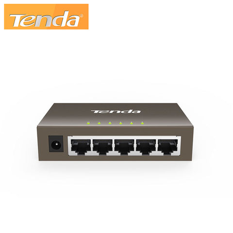 5-port Gigabit 10/100/1000Mbps 5-port Ethernet Switch Tenda TEG1005D