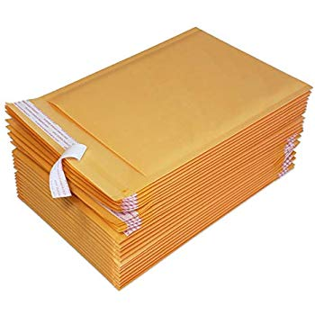 "iMBAPrice 25-Pack #5(9.5"" x 14.5"") Kraft Bubble Mailers Padded Envelopes, Total 25 Mailing Envelopes"