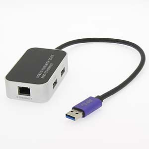 USB3.0 Gigabit Ethernet with 3Port Hub+SD/TF (Micro SD) Card Reader
