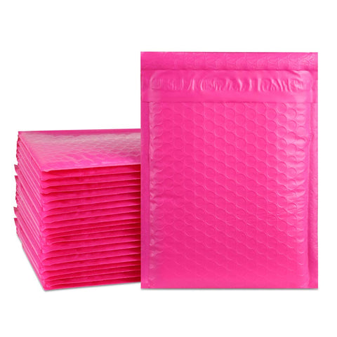 "iMBAPrice 250#00 5x10 Poly Bubble MAILERS Padded ENVELOPES 5"" x 10"" Pink"